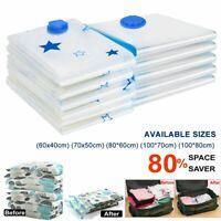 10tlg Vakuum Beutel Aufbewahrungsbeutel Tasche Tüte Vacuum für Kleidung Betten