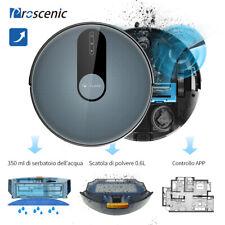 Proscenic 820P Alexa robot aspirapolvere lavapavimenti Mappatura Auto Ricarica