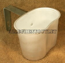 Aluminum WWII military style single handle canteen cup Rothco 513 for #414 NEW