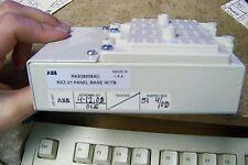 nos abb rxz-21 panel base with terminal base