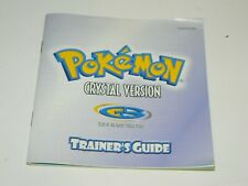 Pokemon: Crystal Version Manual / Instruction Booklet for Game Boy Color GBC