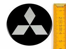 MITSUBISHI ★ 4 Stück ★ SILIKON Ø55mm Aufkleber Emblem Felgenaufkleber Radkappen