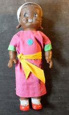 Reliable Antique Vintage Doll Black Made In Canada Rare Ms31