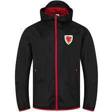 Wales Cymru FAW Official Football Gift Boys Kids Shower Jacket Windbreaker