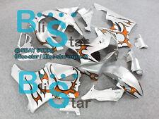 Orange Pattern ABS Fairing Bodywork Plastic Honda CBR900RR CBR919RR 1998-1999 D5
