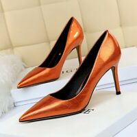 Womens Fashion Sexy High Heels Pumps Pointed Toe Stilettos Shoes Party Nightclub