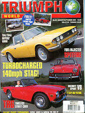 Triumph World Magazine August/September 2001 Spitfire EX 070916jhe