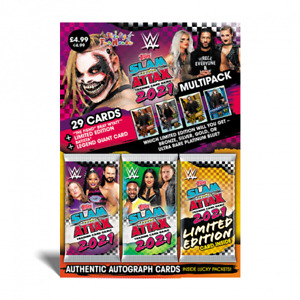 Topps WWE Slam Attax 2021 - Multipack (Includes Limited Edition)