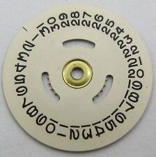 Rolex Watch Movement 1160 1161 ... part calendar disc * champagne color *