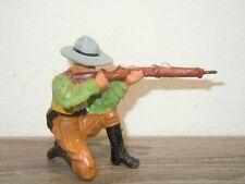 Elastolin Germany - Toy Cowboy with Gun *37770