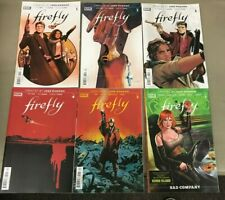 Firefly 1-5 Plus Bad Company 1 Boom Studios Joss Whedon Serenity 1st Print Hot