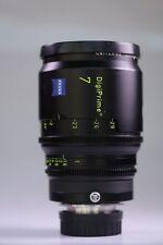 """Carl Zeiss Digiprime 7mm T1.6 Lens B4 Mount Digital Cine 2/3"""" Cameras"""
