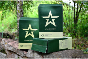 Military Rations of the Russian Army MRE Best Dry in Russia Food for Travelers