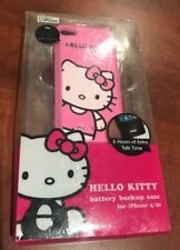 HELLO KITTY BATTERY BACKUP RECHARGEBLE CASE FOR iPHONE 4S 4 FREE SHIPPING