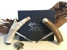 Real Deer Stag Antler Brew Corkscrew, Handmade, Gift, BBQ, Wine/Beer, Wedding