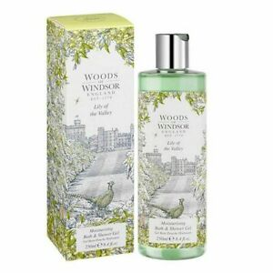 Woods of Windsor Lily of the Valley Moisturising Bath Shower Gel 250ml 8.4oz