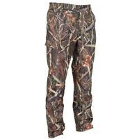 Solognac Men's Kamo Logic Reed Waterproof Hunting Trousers Outdoor Pants