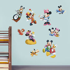 Mickey Minnie Mouse Vinyl Decal Removable Wall Sticker Kids Home Decor Mural Art