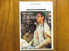 Dec. 14, 1997 N Y Times TV Mag(ER/GEORGE  CLOONEY/JENNIFER MARQUETTE/JENA MALONE
