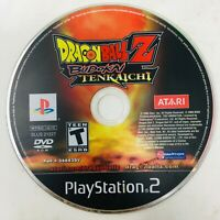 Dragon Ball Z: Budokai Tenkaichi (Sony PlayStation 2, PS2, 2005) - Disc Only