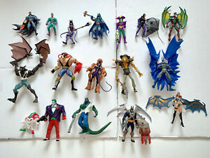Legends of Batman Dark Knight lot 16 loose figures DC Kenner Mattel EUC