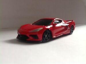 1:64-scale 2020 RED Chevrolet Corvette C8 Stingray Diecast Model Maisto loose