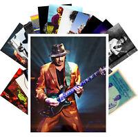 Postcards Pack [24 cards] Carlos Santana Rock Music Vintage Posters CC1259