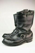 Vintage Harley Davidson Engineer Boots Shoes 10 M 1980s Made in Usa Distressed