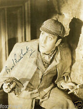 BASIL RATHBONE Signed Photograph - Film Actor 'Sherlock Holmes' - Preprint