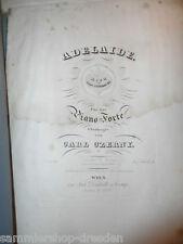 20359 Beethoven Adelaide Pianoforte  v Carl Czerny Diabelli Wien 1840 No 6951