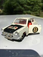 Dinky Toys Meccano Ford Cortina Rally Car Castrol No.1967 1967 White