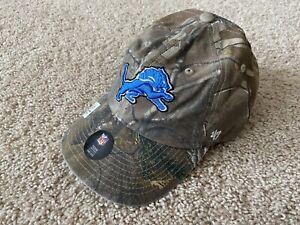 47 Brand Detroit Lions camo hat