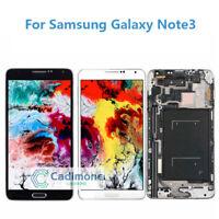 Pour Samsung Galaxy Note 3 N9005 Écran LCD Tactile Vitre avec Cadre Display H2FR