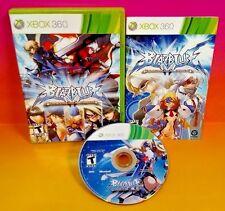 BlazBlue: Continuum Shift - XBOX 360 Game - Rare Complete 1-2 Players Aksys