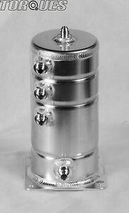 AN-6 (-6 AN) / AN-8 (-8 AN) JIC 5 Port 1.5 Litre Aluminium Alloy Fuel Swirl Pot