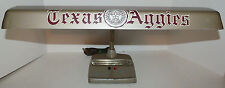 Vintage TEXAS A&M AGGIES Mid Century Desk Lamp - Marks Deluxe - 4 lbs 8.8 oz