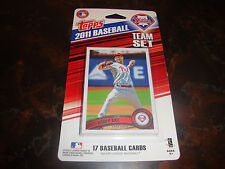 2011 Topps Baseball---Phillies Team Set---17 Cards---Factory Sealed