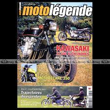 MOTO LEGENDE N°172 BIDALOT MOTOBECANE 350 KAWASAKI Z 1300 BSA A7 MZ 125 TAILLEUX