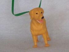 Labrador Retriever dog figure with collar custom Christmas ornament