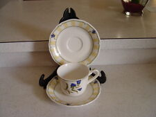 1 CUP AND 2 SAUSERS  NORITAKE CHINA SUMMER ESTATE MADE IN KOREA # 9212
