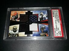 2012 Topps Prime #QCR-RISM-Quad RB Patch Card! 4 RBs on One Card! PSA NM-MT+ 8.5