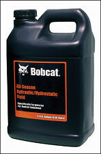Bobcat Hydraulic Hydrostatic Fluid Oil All Season 2.5 Gallon Skid Steer Loader