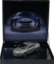 OPEL GTC CONCEPT CAR AUTOSALON GENEVE 2007 GRIS MAT SCHUCO 1/43 EN BOITE COFFRET