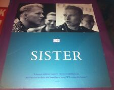 Bros - Sister - HUGE STAND UP SHOP ONLY PROMO DISPLAY - Matt Goss Luke Goss