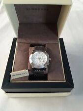 Burberry Mens Chronograph Watch BU2303, Swiss made, 100 M water resistant