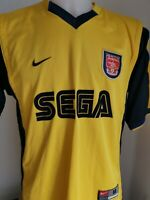 maillot  de football arsenal  nike taille M  vintage 99/00