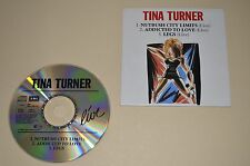 Tina Turner - Live / 3 Track Single in Carboard / Capitol 1988 / W. Germany /Rar