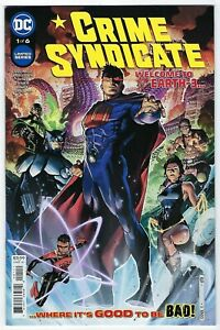 Crime Syndicate # 1 of 6 Cover A NM DC
