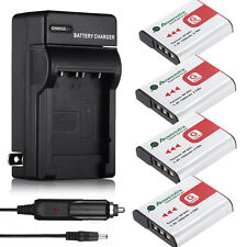 NP-BG1 NP-FG1 Battery +Charger for Sony Cyber-shot DSC-W220 DSC-H55 DSC-H20 H10