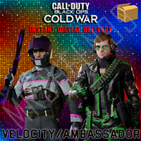 Call of Duty Black Ops Cold War Beck Velocity Adler Ambassador Skin Duo Bundle